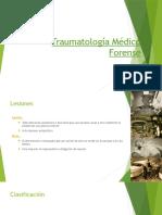 MedicinaLegal. Traumatología.