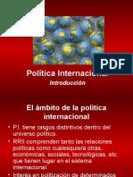 POLÍTICA INTERNACIONAL - I