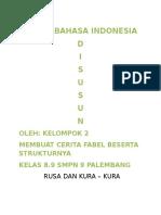 Tugas Bahasa Indonesia Fabel