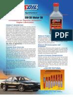 100% Synthetic 5W-30 Motor Oil (ASL)