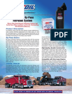 Heavy-Duty by-Pass Filtration System Data Bulletin