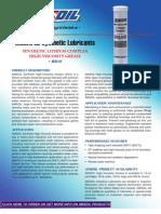 High Viscosity Industrial Grease Data Bulletin