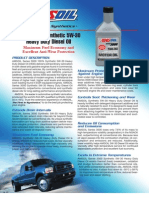 Series 3000 5W-30 Heavy Duty Diesel Oil Data Bulletin