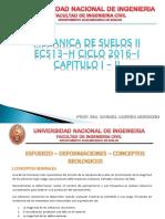 Mecanica de Suelos II - Ing. Manuel Correa Morocho