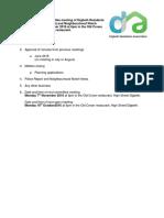 Agenda 12.09.16