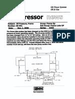 GE COMPRESSORS 00-001 Frame Oil Pressure