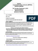 MPRWA Agenda Packet 09-08-16
