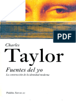 3 Clase, Recortado -Taylor Ch Las Fuentes Del Yo