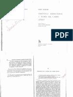 Semántica Estructural y Teoría Del Campo Léxico (Geckeler)