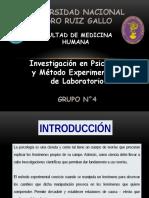 Investigación en Psicología y Método Experimental o de Laboratorio