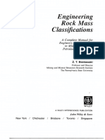 Bieniawski - Engineering Rock Mass Clasification