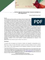 O Brasil Na Agenda Global Das Migrações Internacionais