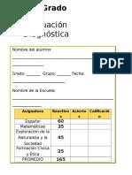 3er Grado - Diagnóstico.doc