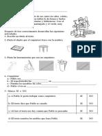 Comprensión Lectora - Pablo El Carpintero