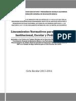 LINEAMIENTOS ISEP