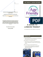 A Guide to London Transit Booklet