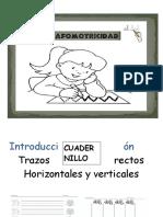 Cuaderno de Gafomotricidad