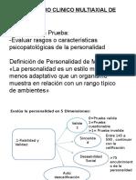 Inventario Clinico Multiaxial de Millon-II