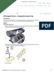 HP Designjet Printers - Cleaning the Encoder Strip