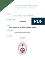 Leyes de Kirchhoff y Conceptos Elétricos