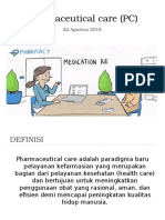 Pendahuluan Pharmaceutical Care (PC)
