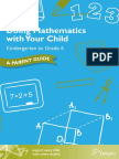 doing math with your child k-6 - parent guide