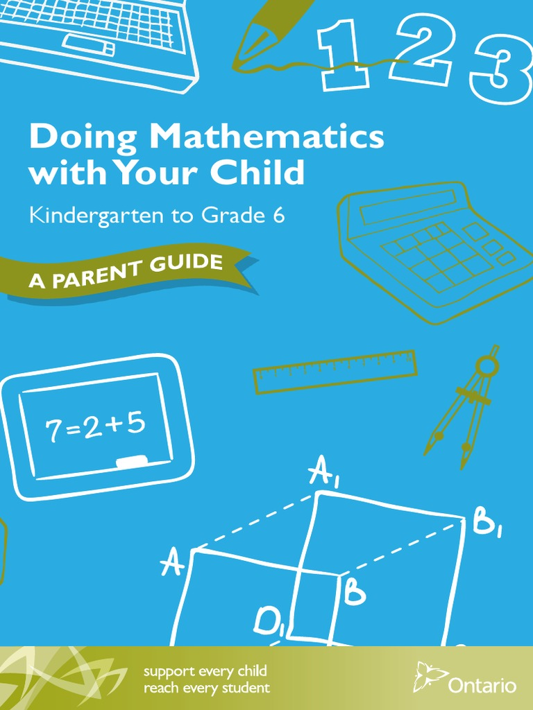 doing math with your child k-6 - parent guide | Symmetry | Physics ...