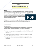 sight-word-a pdf for screener