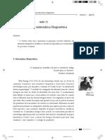 Impacto da Sistemática Filogenética