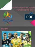 Torneo Olímpico de Fútbol Femenino Río 2016