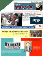 Amigos de Padre Pio Abril 2016