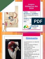 Juegos Olímpicos Rio 2016-Mayra Garcia
