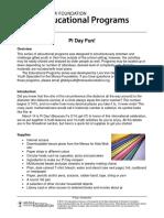 Activity Pi Day