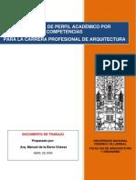 Unfv Arquitectura Perfil Academico Por Competencias