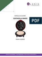 Manual Quesadilla Maker Blanik