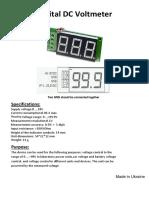 Panel Meter Digital