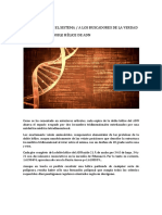 Analizando La Doble Hélice Del ADN