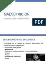 Inmunologia - Malnutrición