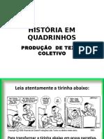 Hq Para Produção de Texto Coletivo