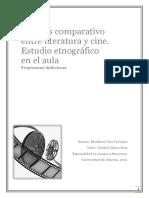 Analisis Comparativo Entre Literatura y CineEstefania Orta Carrique