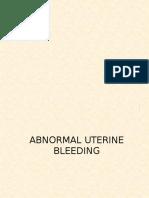267276410 Abnormal Uterine Bleeding Pptx