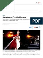 Su majestad Freddie Mercury   El Nuevo Día
