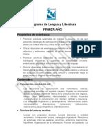 Programa de Lengua y Literatura-presentado