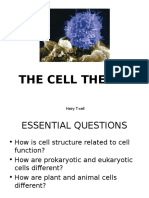 Cell Theory, Parts and Types of Cells