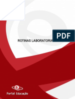 Curso Rotinas Laboratoriais
