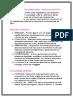 Diferencias Entre Operaciones y Procesos Unitarios