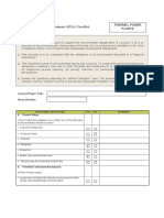 PowerPlant Rapid Assessment Checklist
