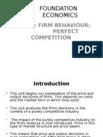 Foundation Economics Lecture 6