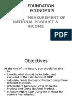 Foundation Economics Lecture 8