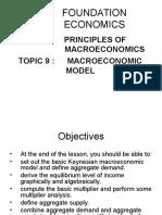 Foundation Economics Lecture 9